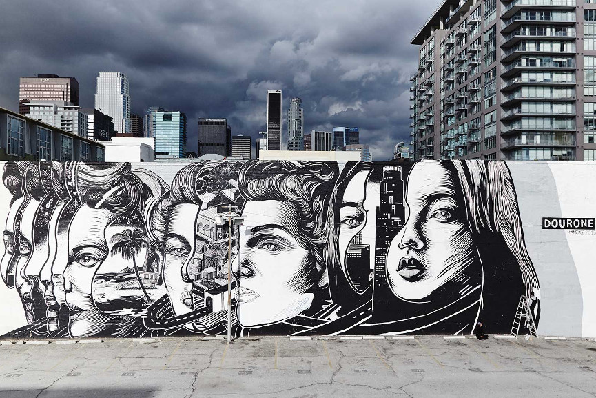 Dourone To Contribute With Two New Murals For 7ways2love