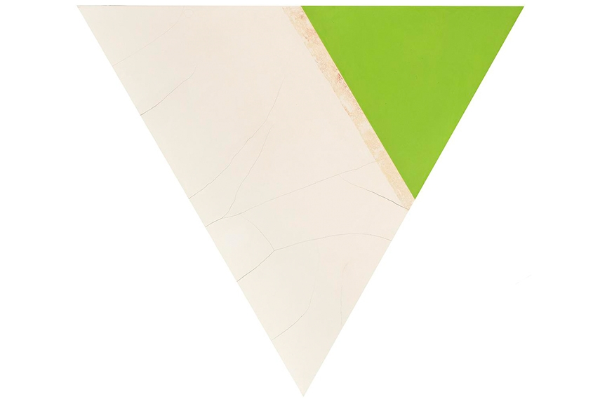 Dove Bradshaw - Angles (Cracks Green Tip), 2005