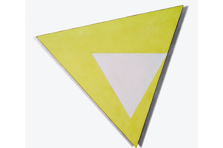 Dove Bradshaw - Angles (Lemon), 2004