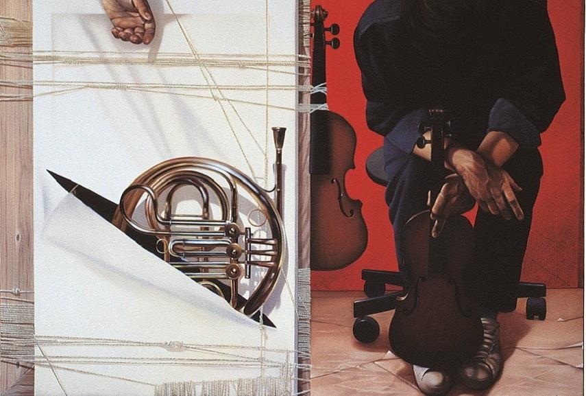 Dovilio Brero - Labirinto Musicale, detail 2.