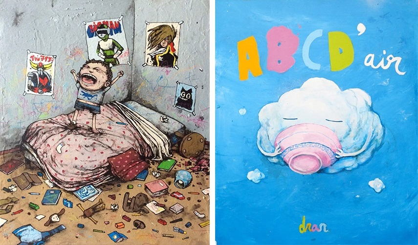 Dran - Aaaaaa banksy posts pictures street contact walls email
