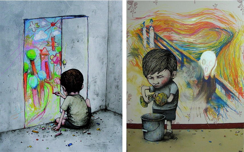 Dran Untitled, 2012 Scream, 2012