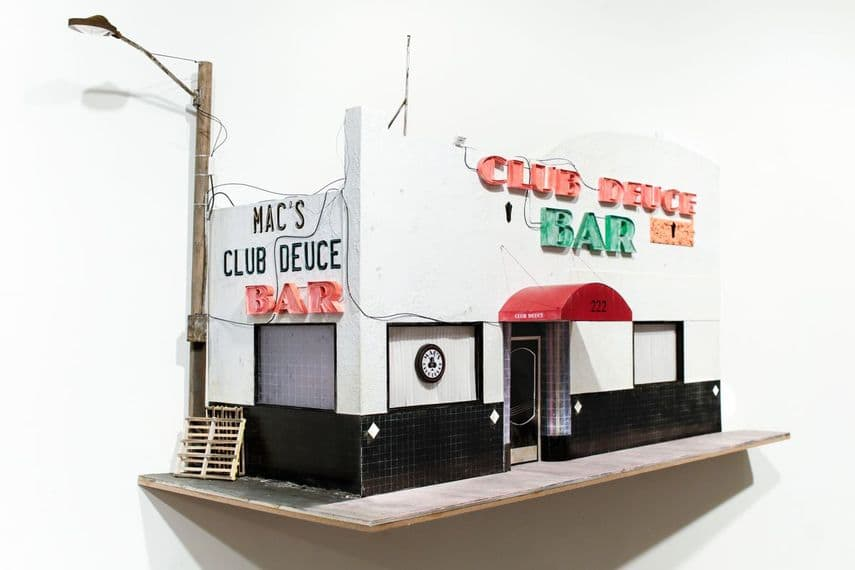 Drew Leshko - Mac's Club Deuce (view 2), 2016