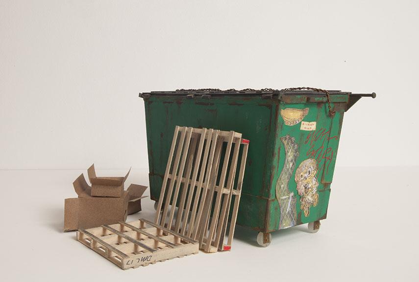 Pretzel Dumpster