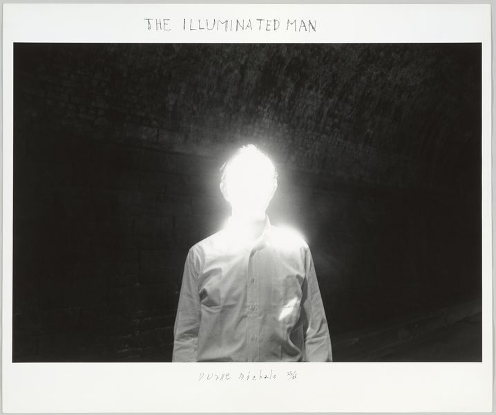 Duane Michals, The Illuminated Man, 1968