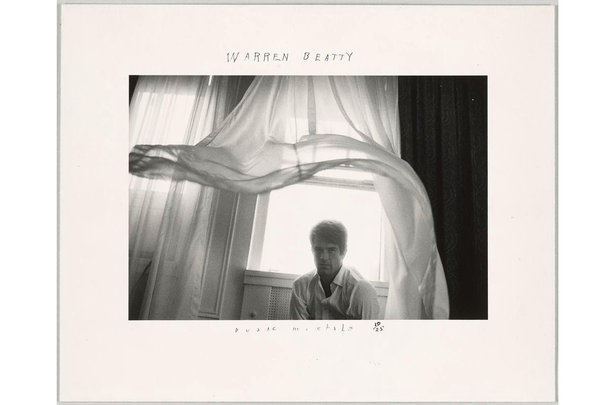 Duane Michals - Warren Beatty, 1966