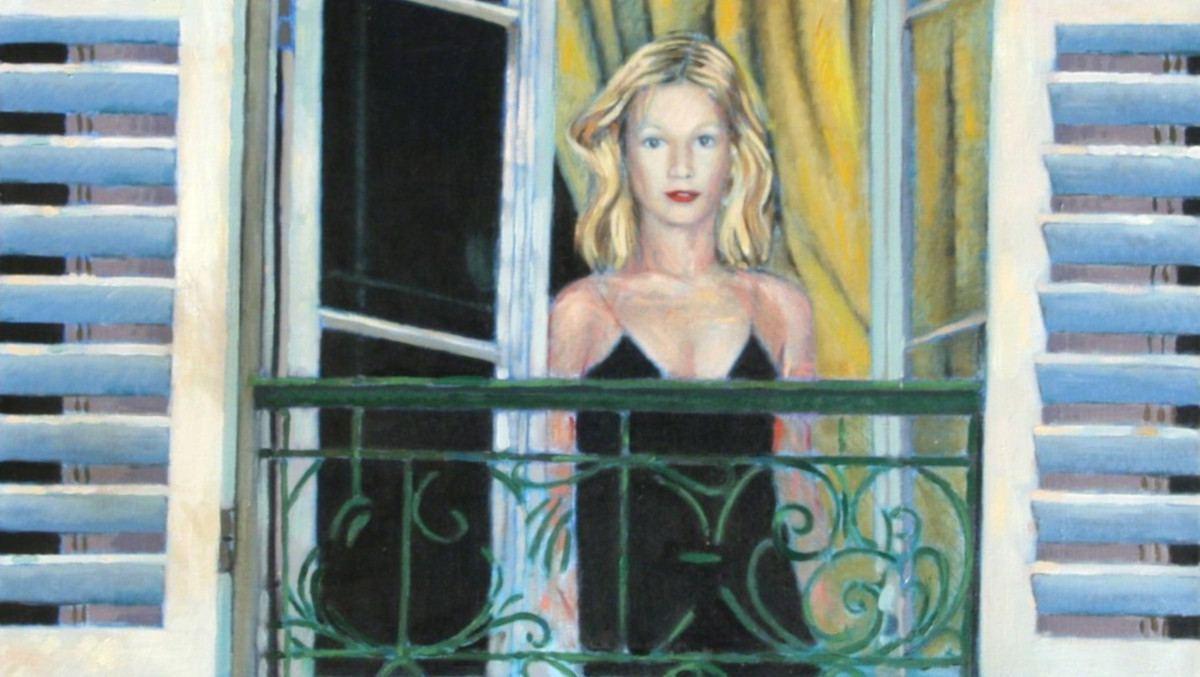 Duncan Hannah - The Balcony, 1981 (detail)