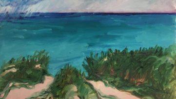 Duncan de Kergommeaux - Lake Huron (detail), 1986