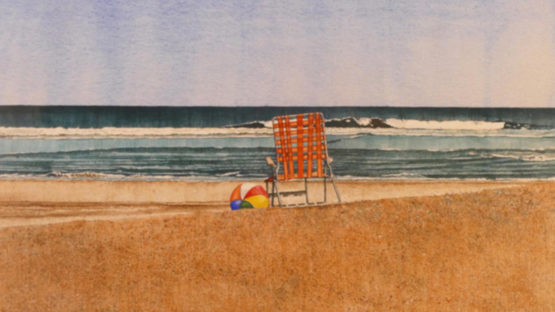 Dwight Baird - Private Beach, 1990 (detail)