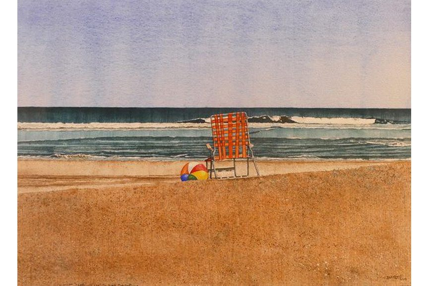 Dwight Baird -Private Beach