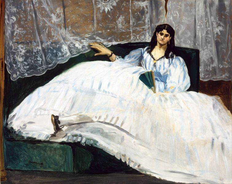 Édouard Manet - Lady with a Fan, 1862