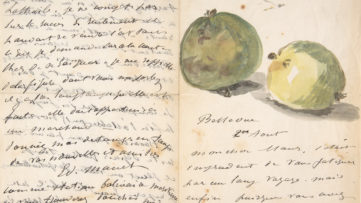 Édouard Manet letter to Eugène Maus