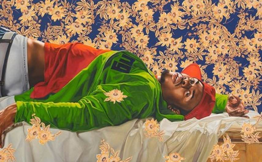 102 x 300 in. (259.1 x 762 cm). Courtesy of Sean Kelly, New York. © Kehinde Wiley