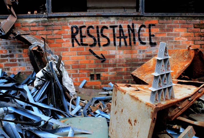 Urban Art's Symbolic Resistance street