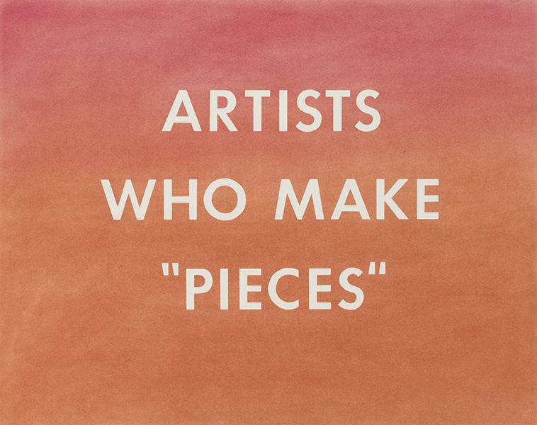 view angeles edward california standard gallery Ed Ruscha - Artists Who Make Pieces, 1976