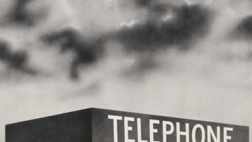 Ed Ruscha - Blue Collar Telephone