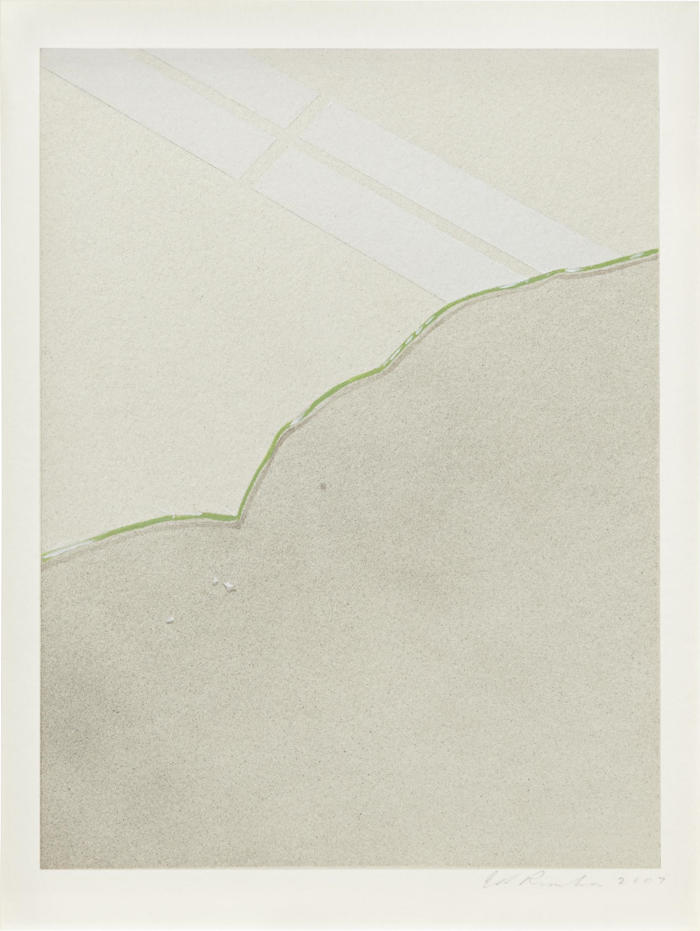 Ed Ruscha-Broken Glass with Shards-2007
