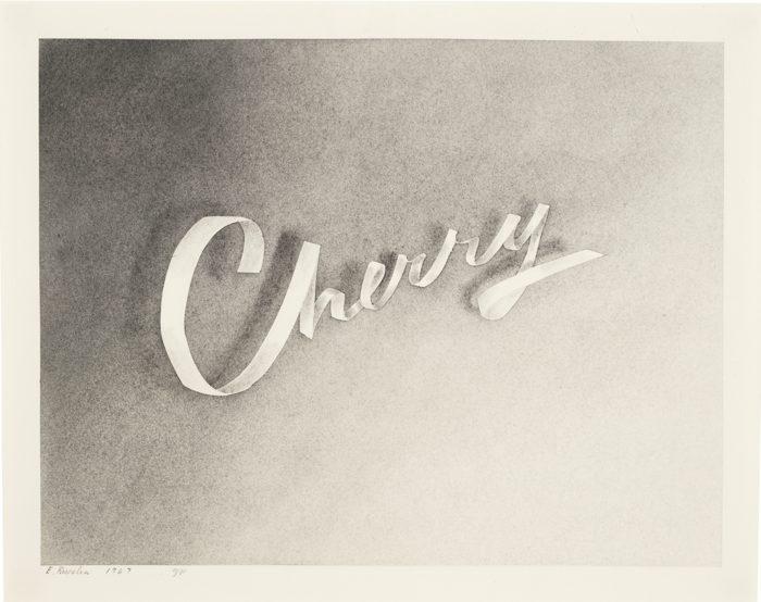 Ed Ruscha-Cherry-1967
