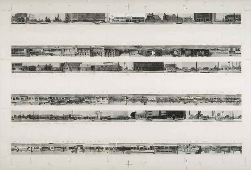 Ed Ruscha - Every Building On Sunset Strip, 1966