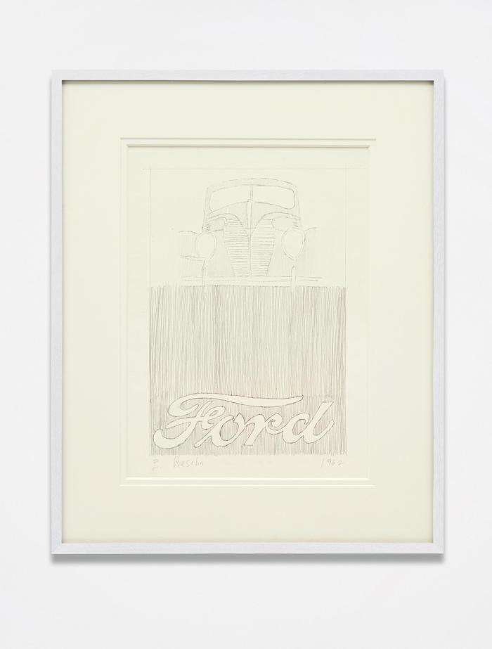 Ed Ruscha-Ford-1962