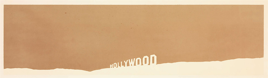 view angeles edward california standard gallery Ed Ruscha - Fruit-Metrecal Hollywood