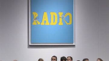 Ed Ruscha Hurting the Word Radio