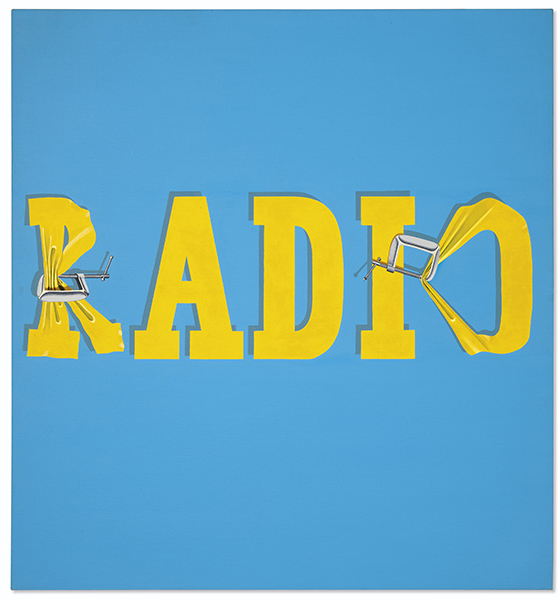 Ed Ruscha - Hurting the World Radio