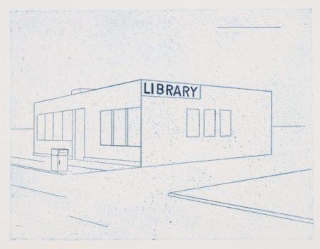 Ed Ruscha-Library-1995