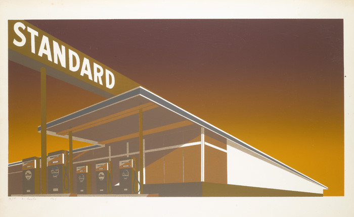 Ed Ruscha-Mocha Standard-1969