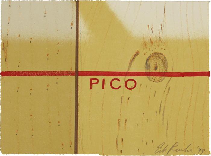 Ed Ruscha-Pico-1999