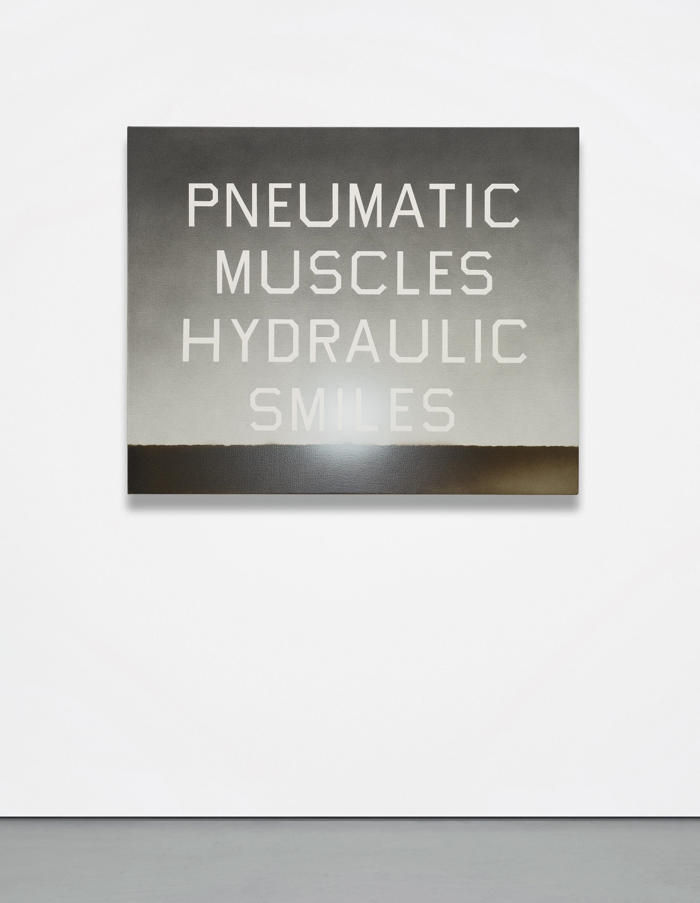 Ed Ruscha-Pneumatic Muscles Hydraulic Smiles-2010