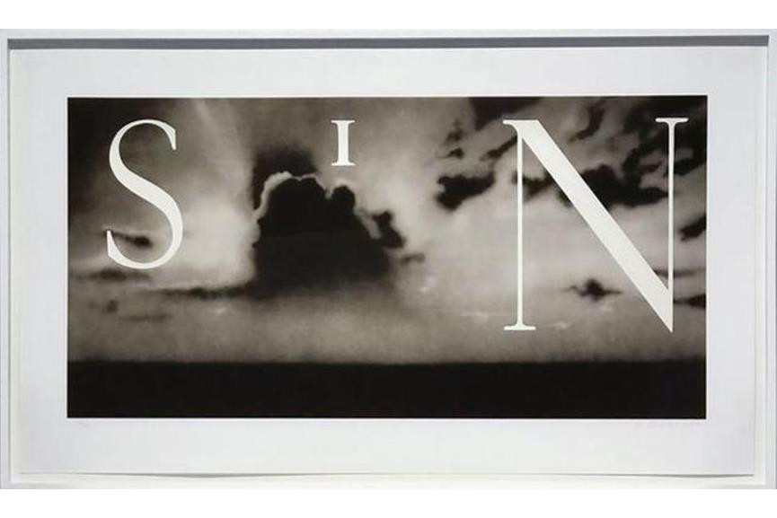 Ed Ruscha - Sin Without