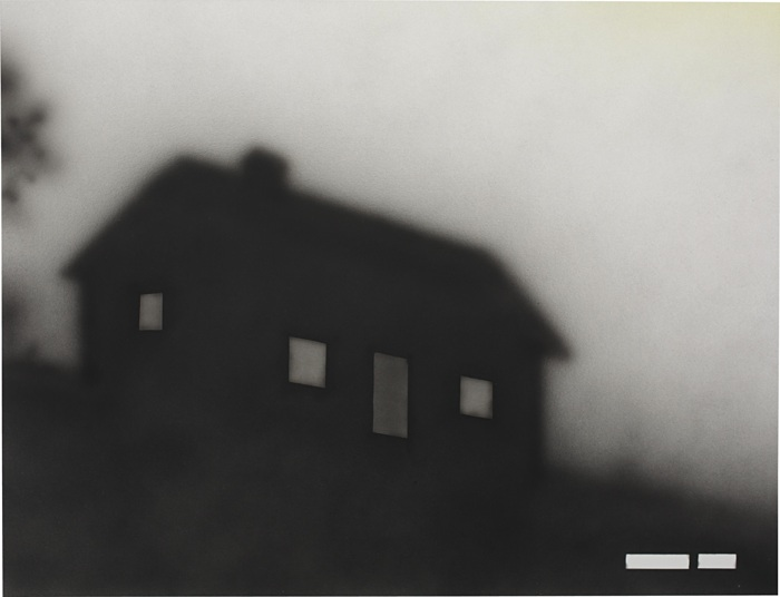 Ed Ruscha-Someone Home-2003