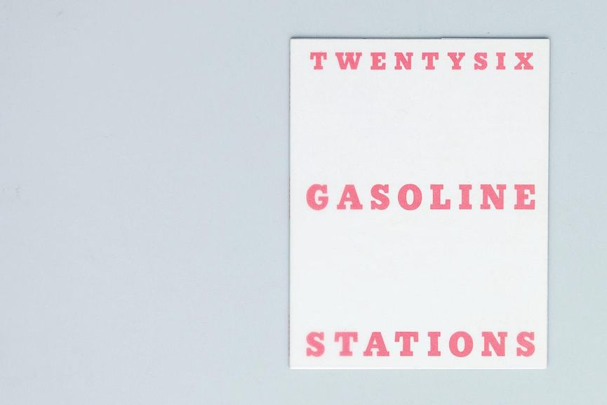 Ed Ruscha - Twenty-six Gasoline Stations, best edition