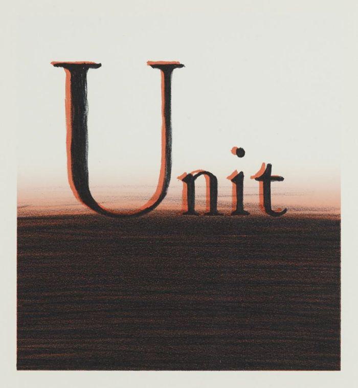 Ed Ruscha-Unit-2004