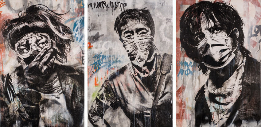 Eddie Colla prints 2016 print edition with paris gallery in december, contact press for policy information
