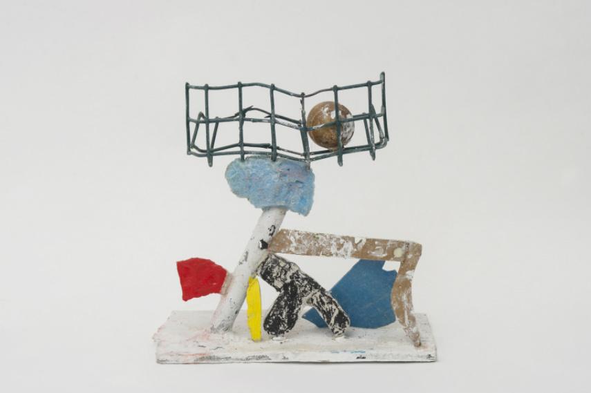 Eddie Martinez - Untitled, 2013 city angeles studio new york angeles gallery spray