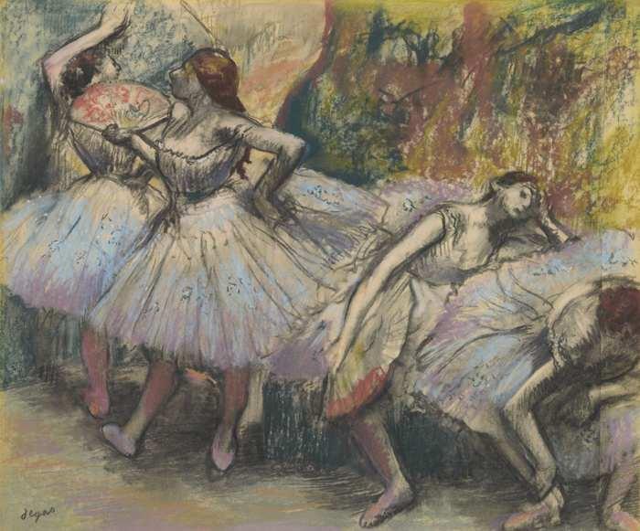 Edgar Degas-Danseuses-1895