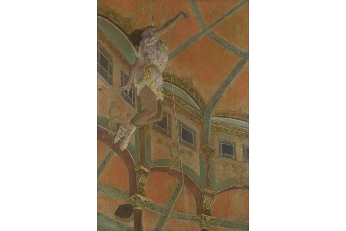 Edgar Degas - Miss La La at the Cirque Fernando