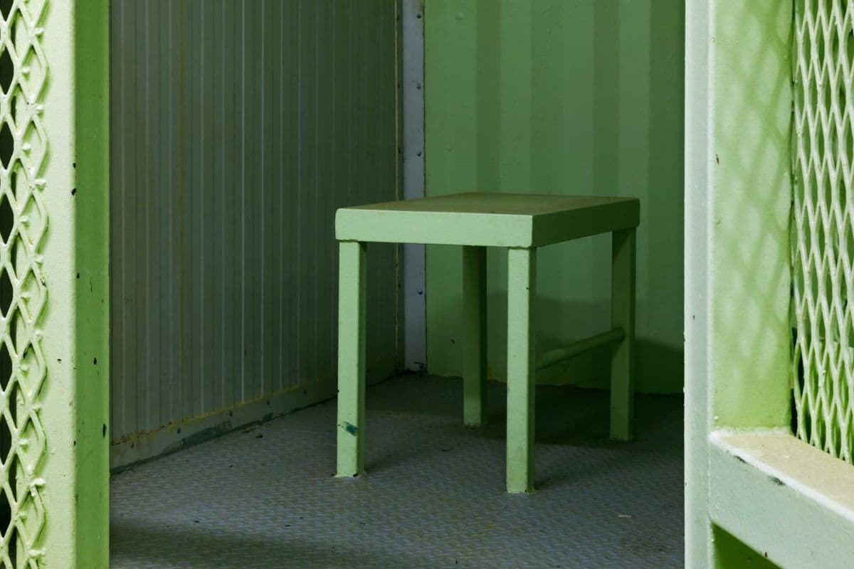 Edmund Clark - Camp 1, isolation unit, from the series Guantanamo- If the Light Goes Out, 2009 (detail)
