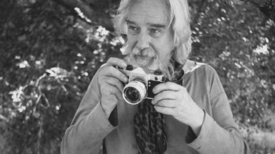Edmund Teske in 1976 (detail), photo by Elisa Leonelli