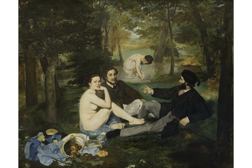 Edouard Manet - Luncheon on the Grass_