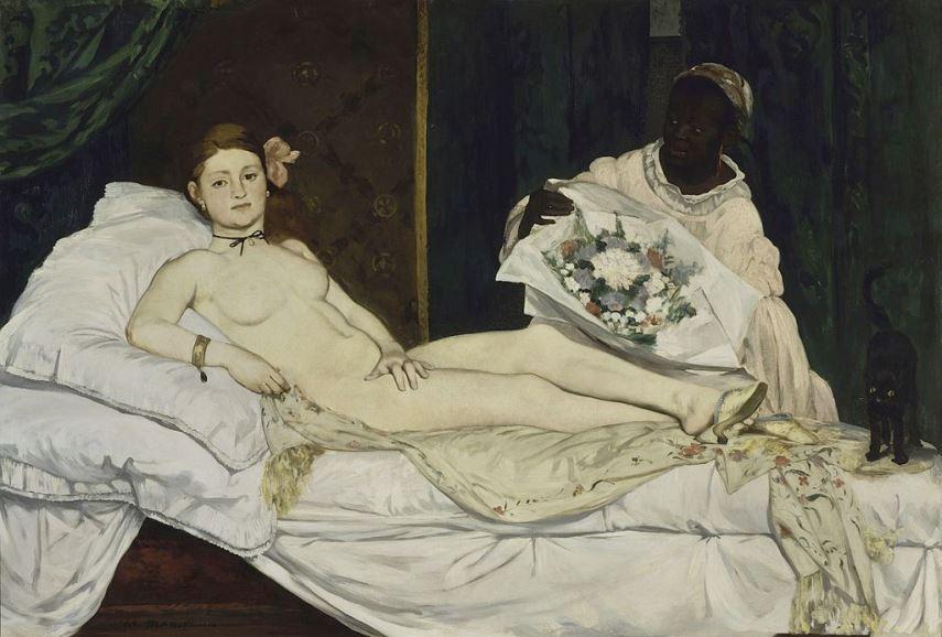 Edouard Jean Manet - Olympia, 1863