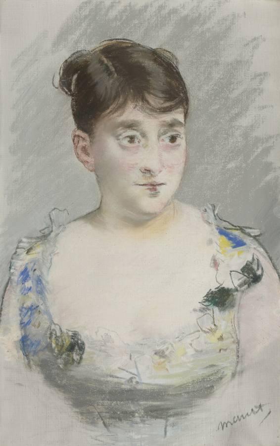 Edouard Manet-Portrait De Madame Du Paty-1880