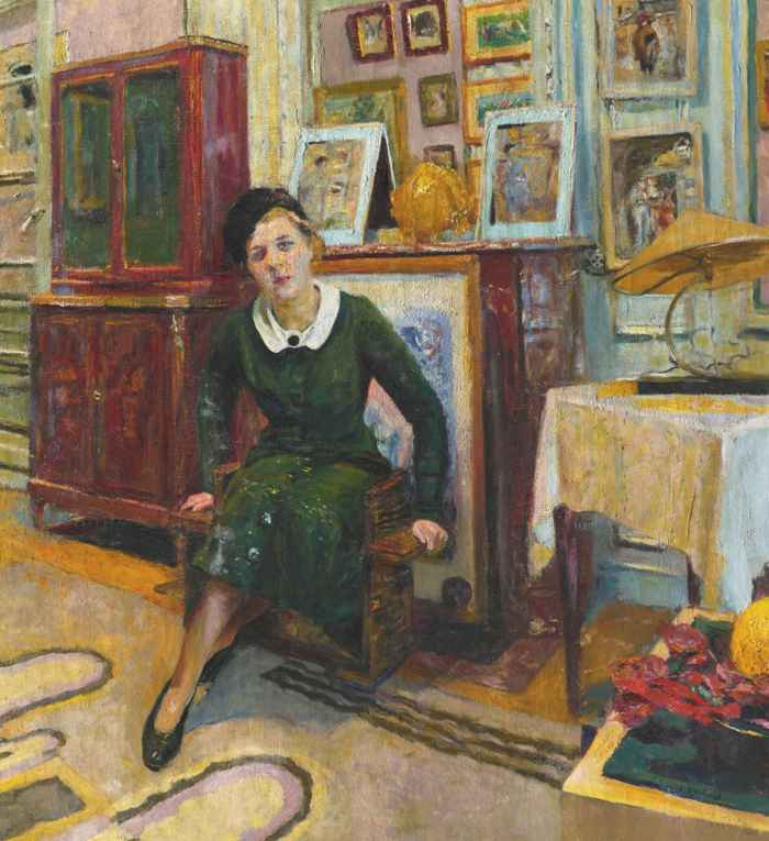 Edouard Vuillard-La Comtesse Lanskoy-1935