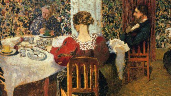 Edouard Vuillard - The End of Breakfast at Madam Vuillard (detail), 1895, photo credits - Wikiart