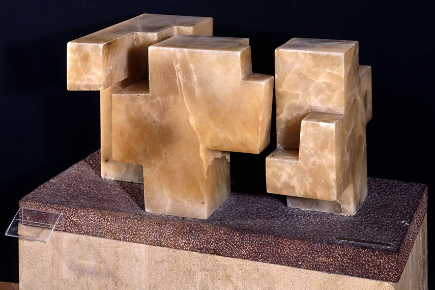The works of Eduardo Chillida were shown in new spanish pavilion in venice and received the prize