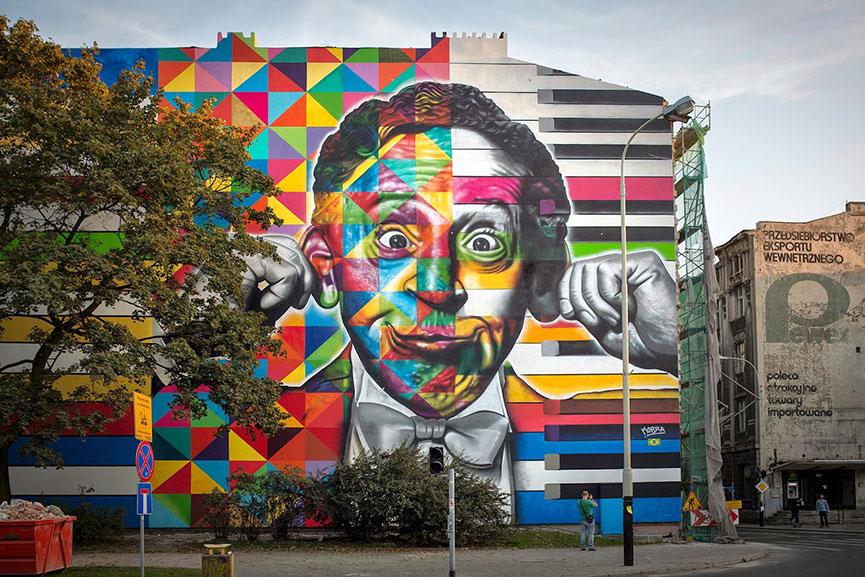 Arthur Rubinstein mural