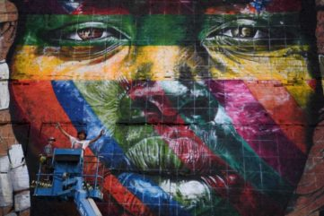 Eduardo Kobra is the Olympics Mural Champion and our Artist of the Week!