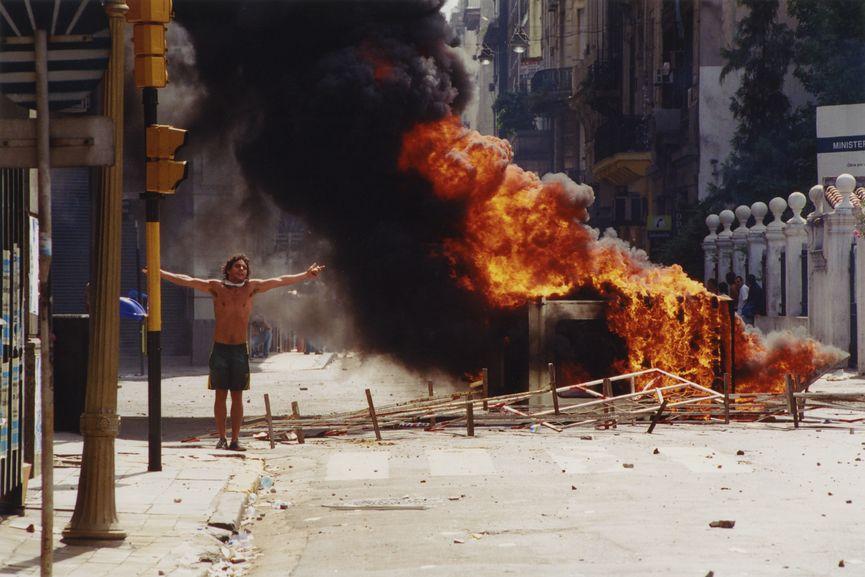 Eduardo Longoni, La batalla de la Plaza de Mayo, 20 diciembre 2001